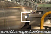 CBN inserts steel roller turning