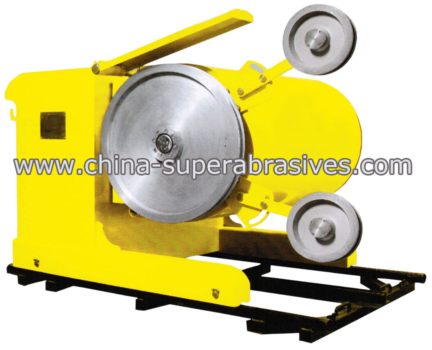 high performance Diamond wire sawing machine made in China!