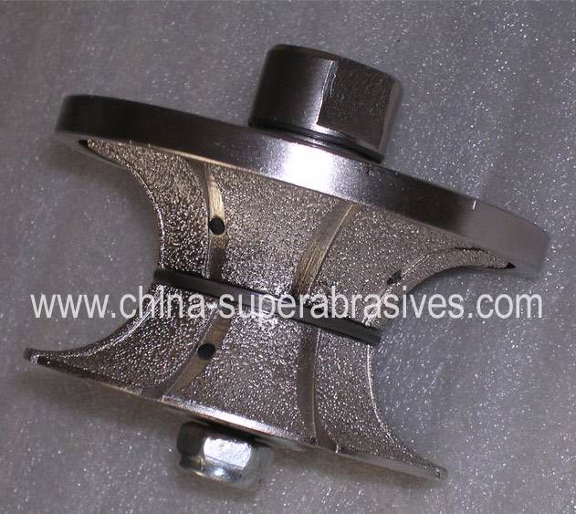 Vacuum Brazed Diamond Hand Profile Wheel
